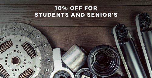 Student and Seniors Discount