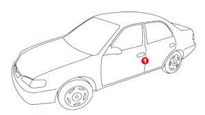 Paint code - Vehicle Location