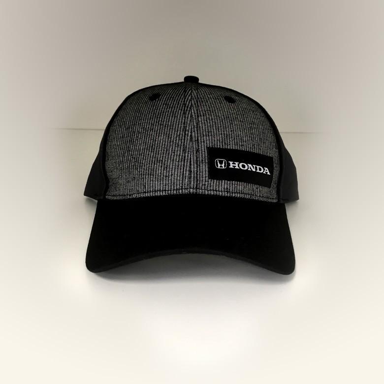 HOUNDSTOOTH COTTON CAP