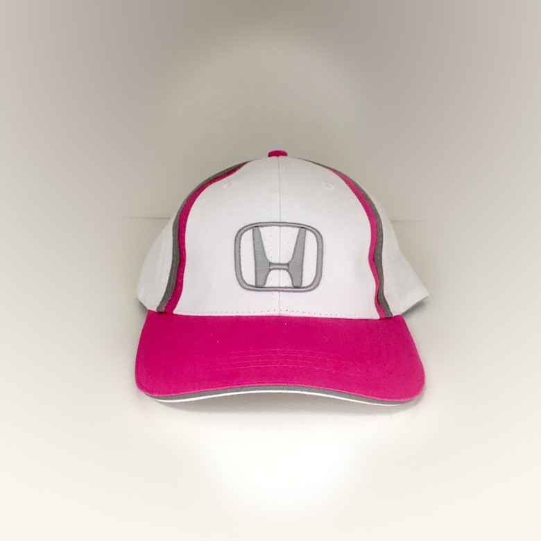 Pink Cap White Face