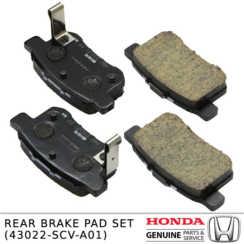 Rear brake Pad Set 43022-scv-a01