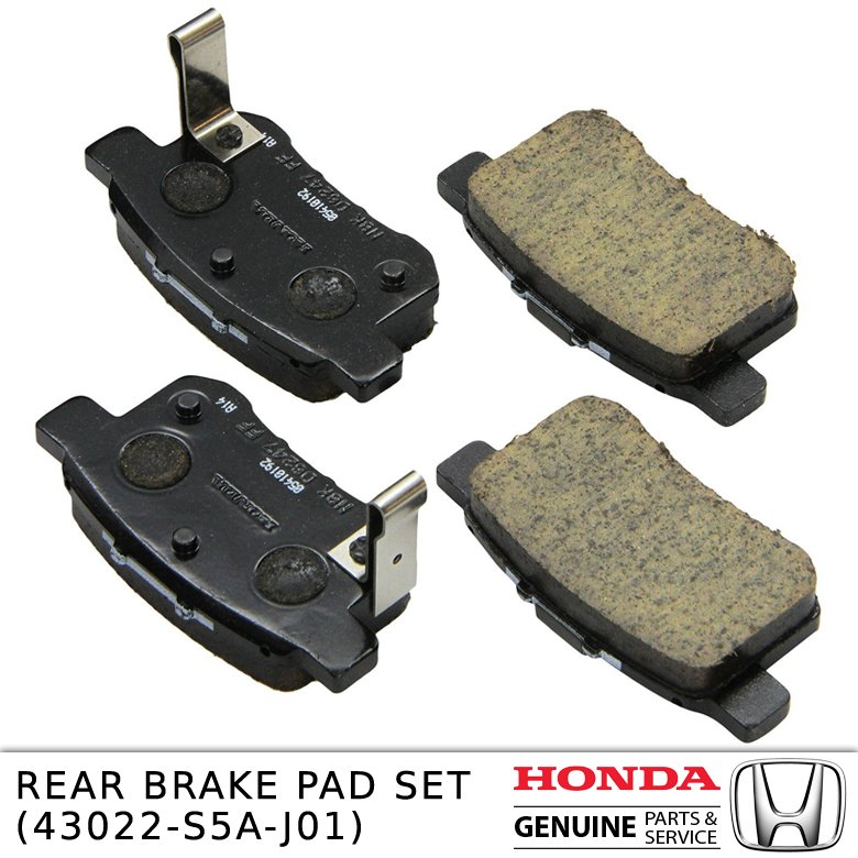 REAR BRAKE PAD SET 43022-S5A-J01