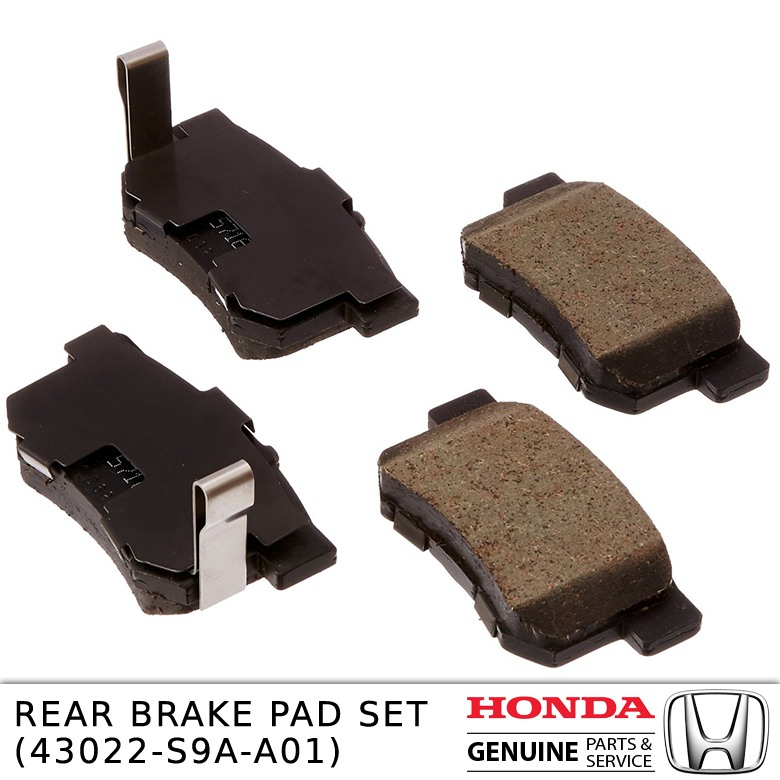 REAR BRAKE PAD SET 43022-S9A-A01
