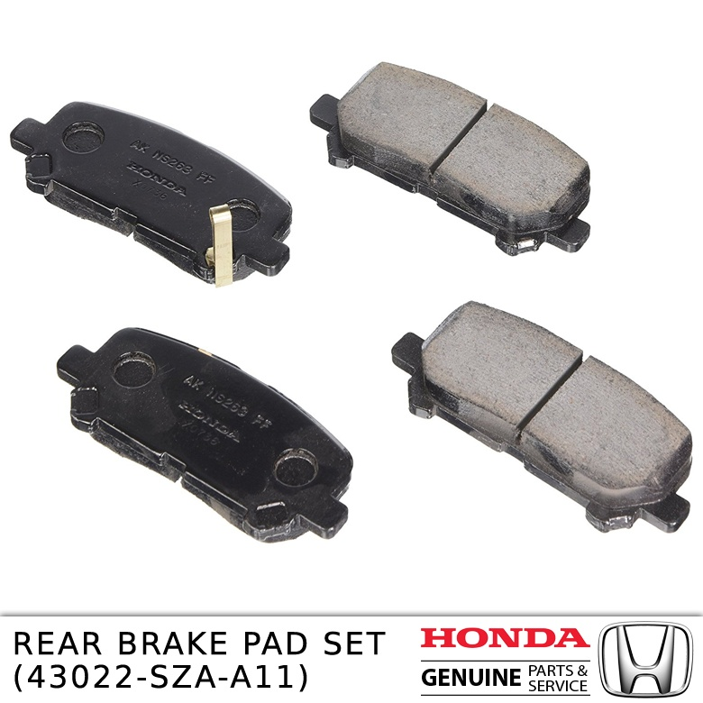 REAR BRAKE PAD SET 43022-SZA-A11
