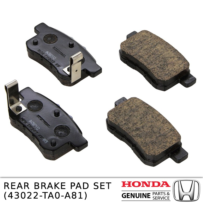 REAR BRAKE PAD SET 43022-TA0-A81