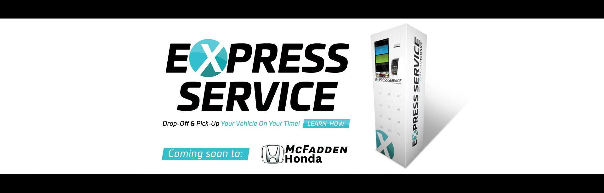 Express Service kiosk