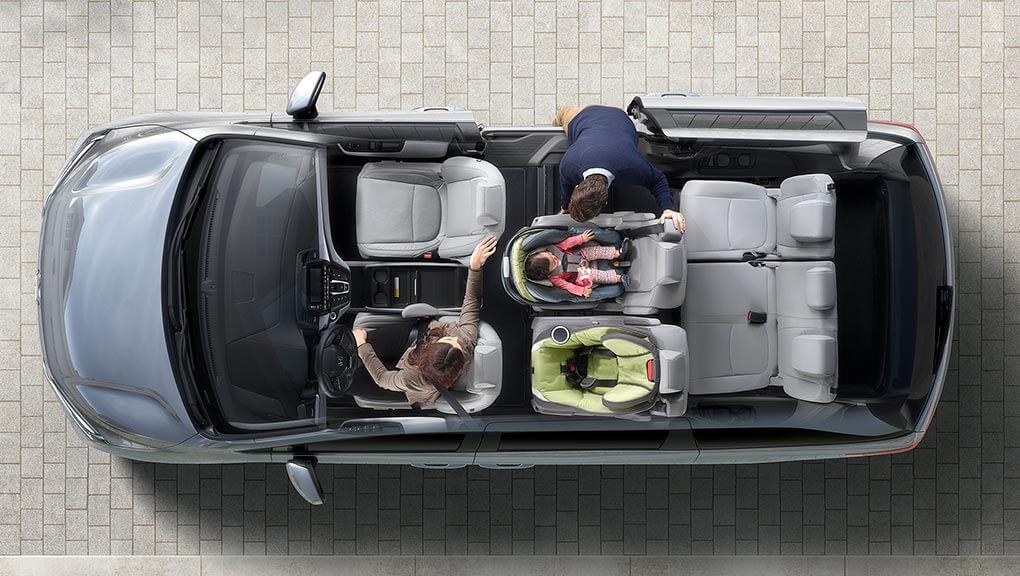 McFadden Honda - 2019 Honda Odyssey - Exterior Cut-Away - Versatility