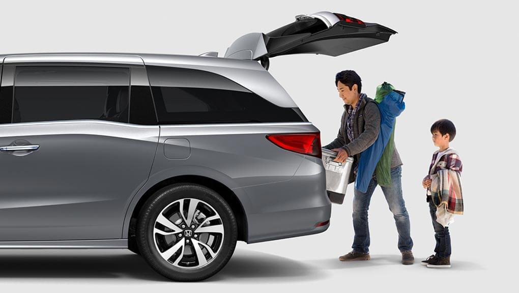 McFadden Honda - 2019 Honda Odyssey - Exterior Rear - Cargo Space - Rear Liftgate