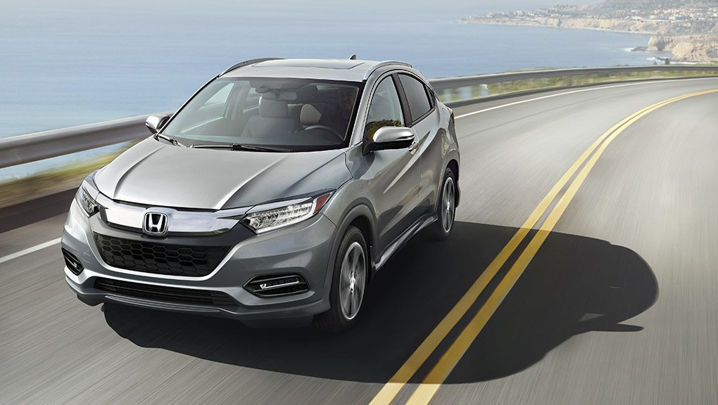 McFadden Honda - 2019 Honda HR-V - Exterior Road - Performance and Efficiency