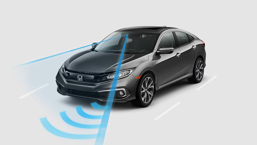 McFadden Honda - 2019 Honda Civic - Exterior - Safety - LaneKeep Assist