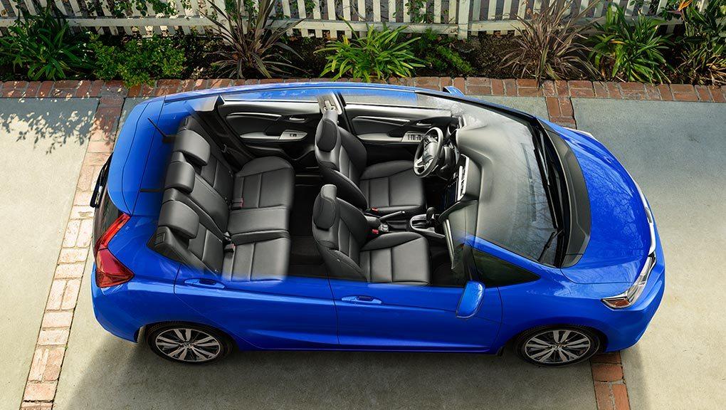McFadden Honda - 2019 Honda Fit - Exterior Cut-away - Versatility