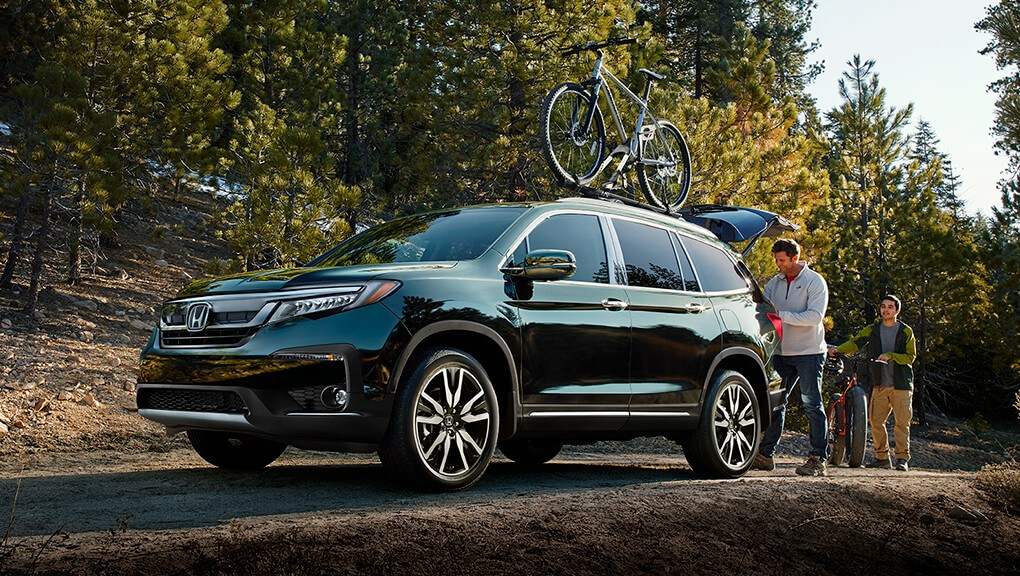 McFadden Honda - 2019 Honda Pilot - Exterior - Performance and Capability - Mountain Biking
