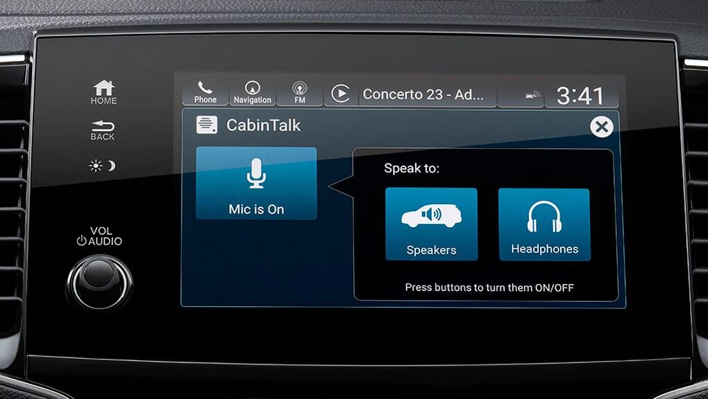 McFadden Honda - 2019 Honda Pilot - Interior - Technology - CabinTalk