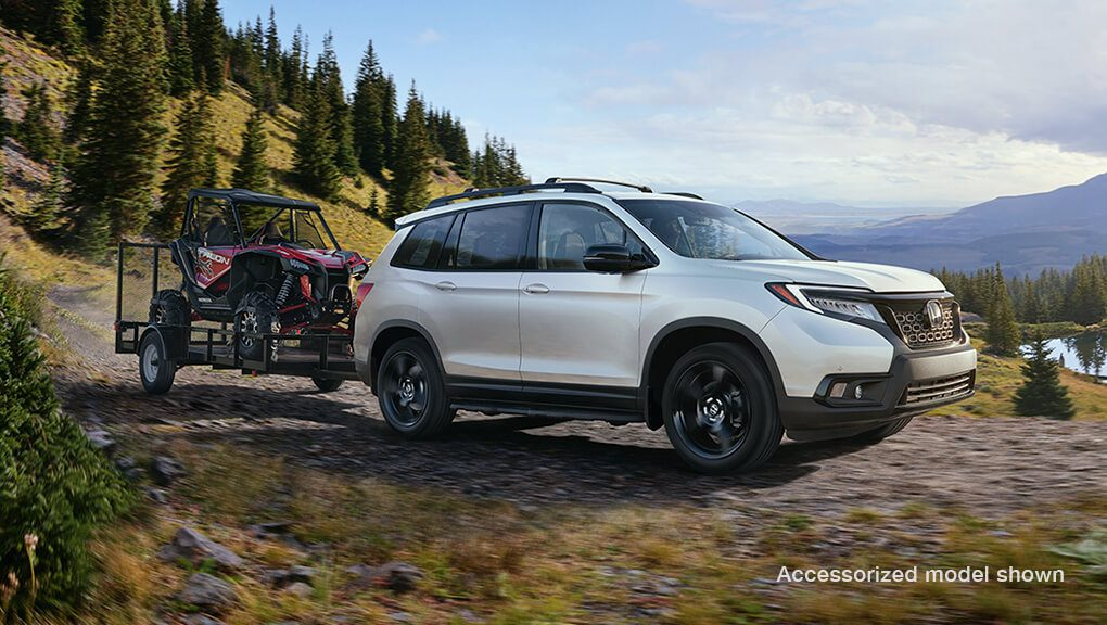 McFadden Honda - 2019 Honda Passport - Exterior - Performance and Versatility - Off Road Towing