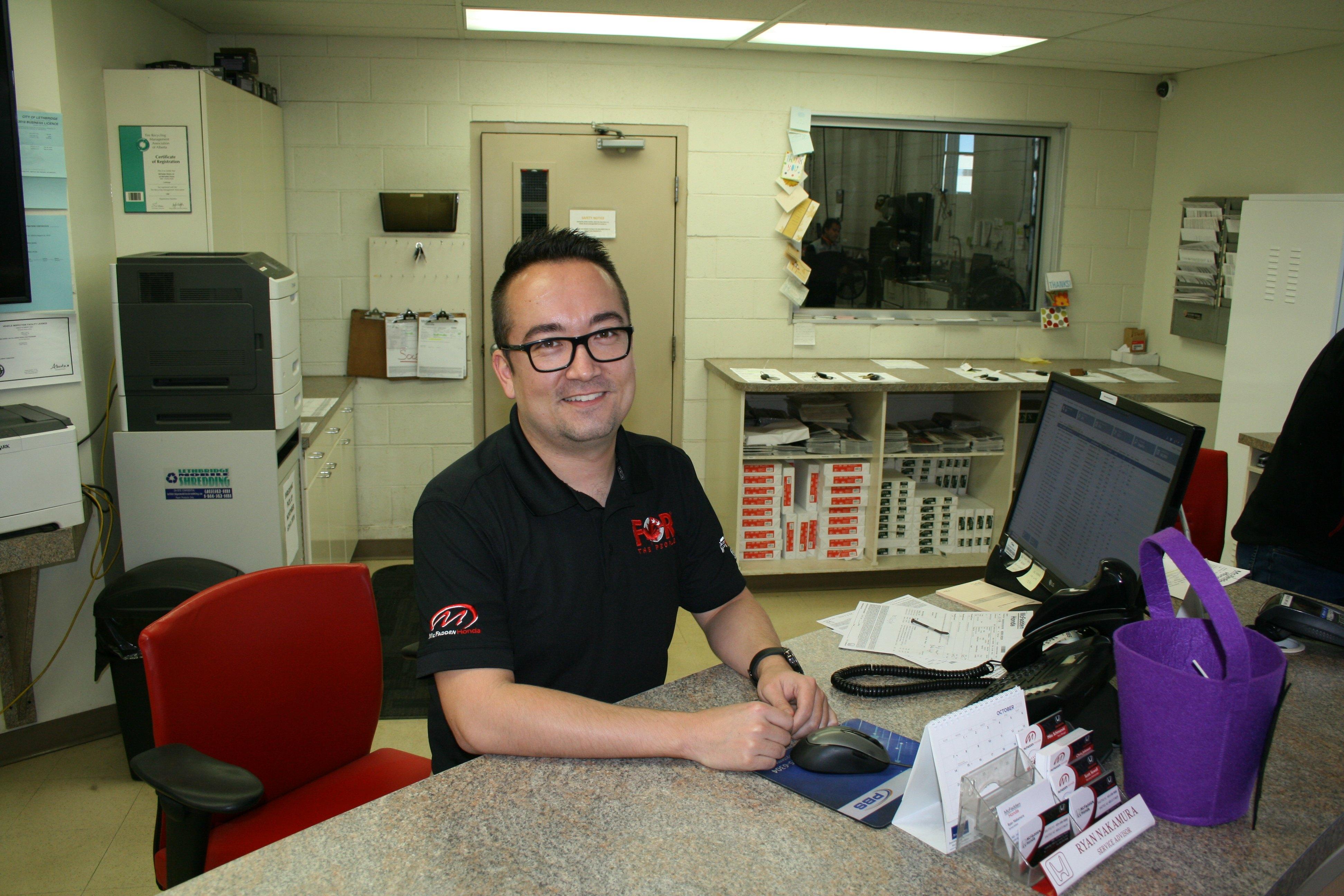 McFadden Honda - Service Advisor - Ryan Nakamura