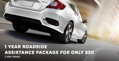 1 Year Roadside Assistance Package
