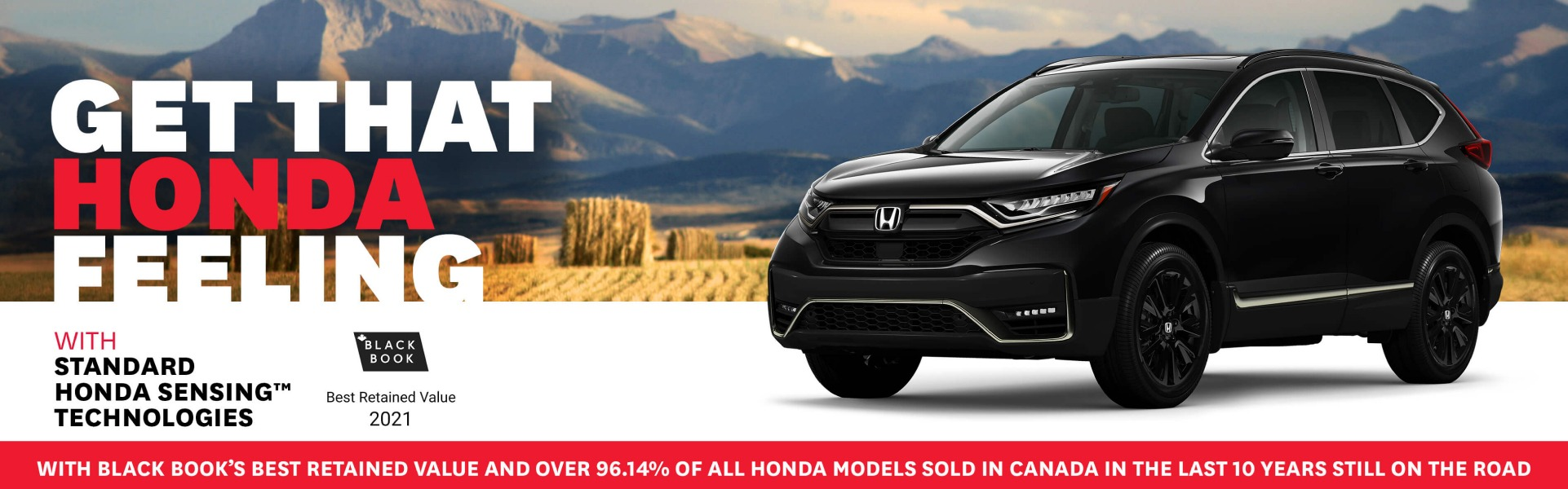 Get That Honda Feeling all June long.